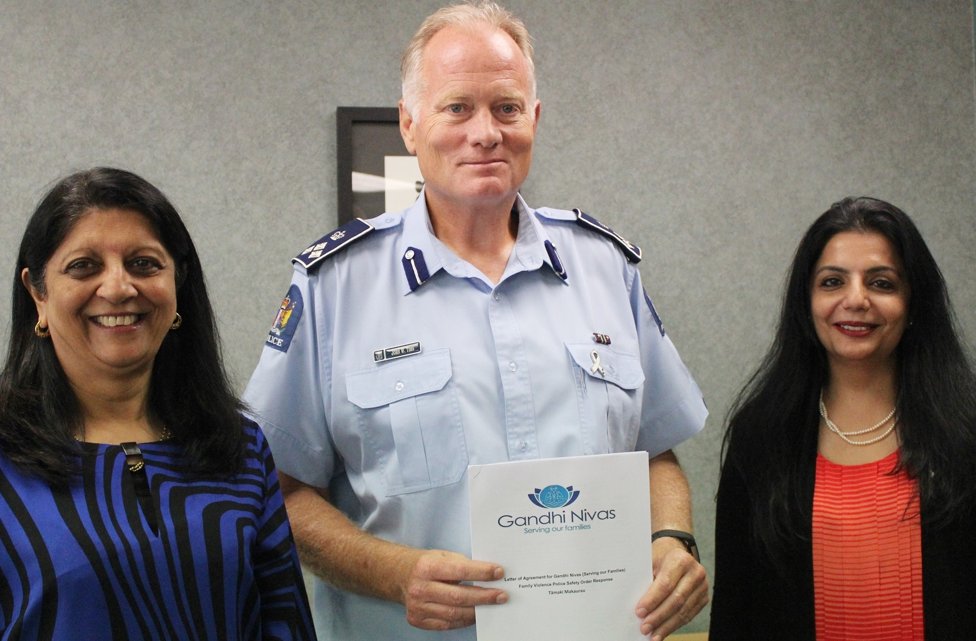 Agreement signing with NZ Police